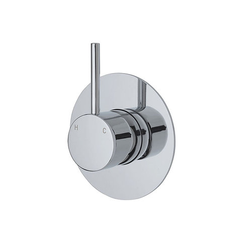 KAYA UP Wall Mixer, Large Round Plate