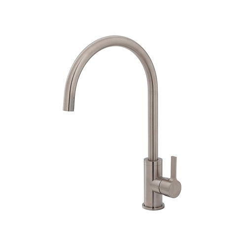 SANSA Sink Mixer, Brushed Nickel