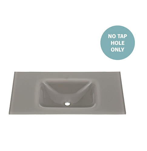 MAMBO Slate 900 Tempered Glass Basin-Top (No Tap Hole)