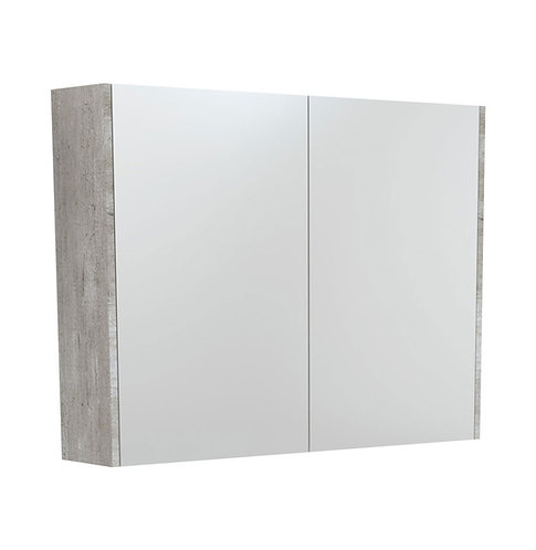 900 Mirror Cabinet with Industrial Side Panels