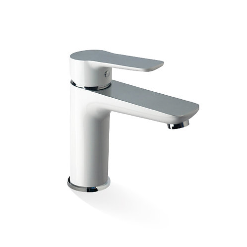 Basin Mixer - Chrome And White