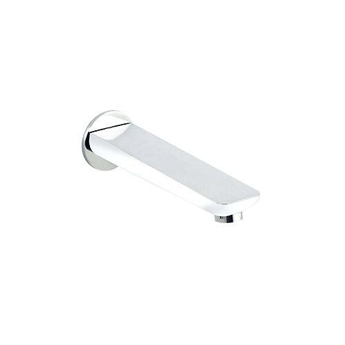 Bath Spout - Chrome And White