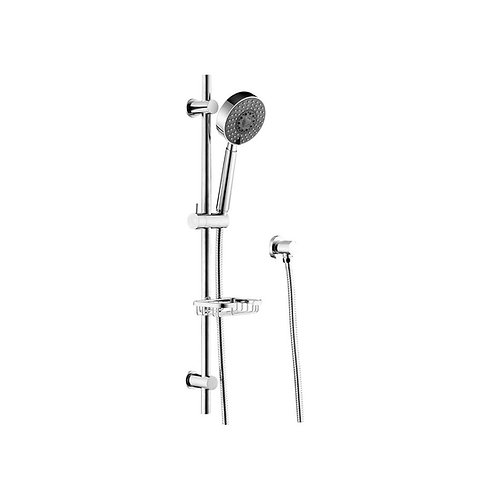 MICHELLE Multifunction Rail Shower with Soap Basket