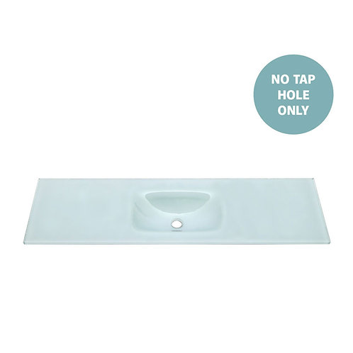 MAMBO Ice 1500 Tempered Glass Single Basin-Top (No Tap Hole)