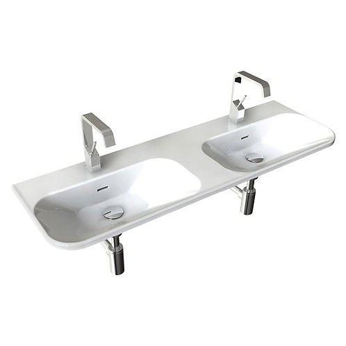 F50 CURVA 1300 Wall-Hung Basin