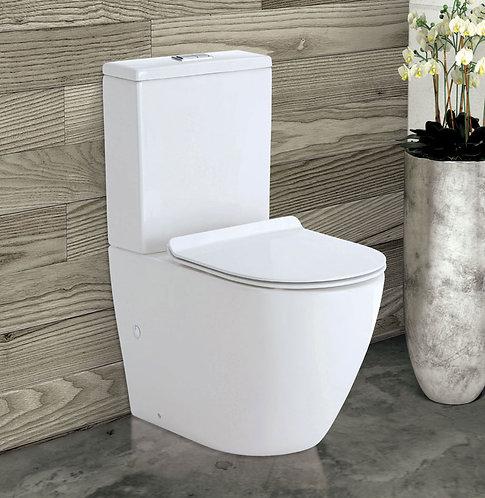 KOKO Rimless Back-to-Wall Suite, Skinny Seat