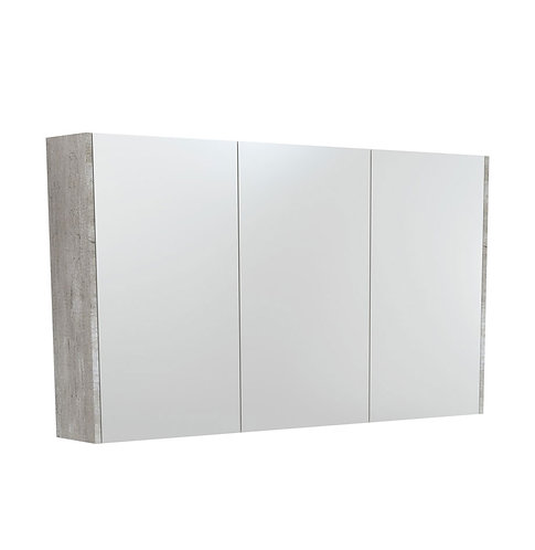 1200 Mirror Cabinet with Industrial Side Panels