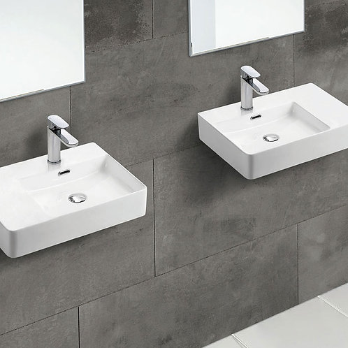 PETRA Left-Hand Wall-Hung Basin