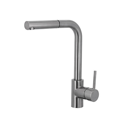 ISABELLA Deluxe Pull-Out Kitchen Mixer, Brushed Nickel