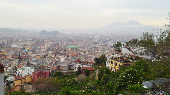 Naples; Of Pizza Galore & Mighty Mount Vesuvius