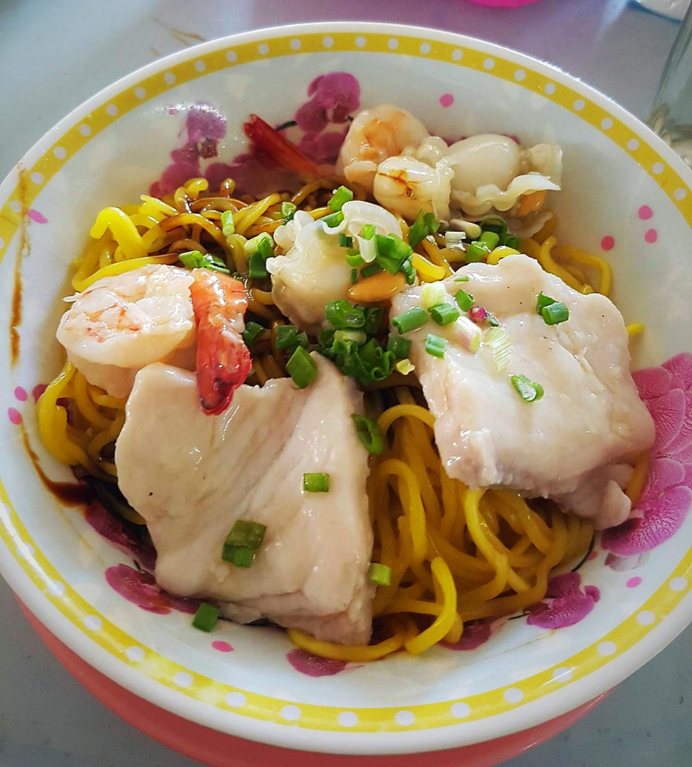 Seafood noodle for RM 13