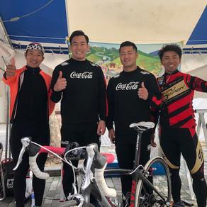 静岡マラソンでスポーツサイクル体験体験をしていただきました