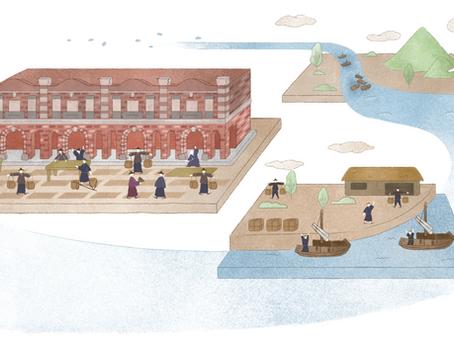 百年回眸 看盡淡水河流域的繁華與衰微
