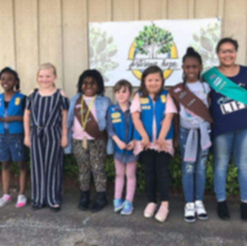 Thank you Girl Scout Troop 2369 and JC P