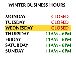 Change of Business Hours Notice