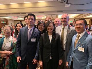 Welcome Taiwan President Tsai Ing-Wen To Denver!