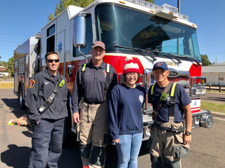 Cheyenne Firefighters Visit Destination Taiwan