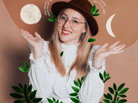 The magic world of healing photoshoots with Landa Penders