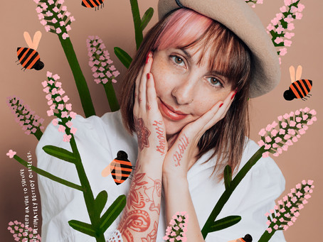 The art of tattooing with Bee Amour