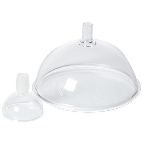 Glasmunstycke med tulpanformad öppning 4 cm