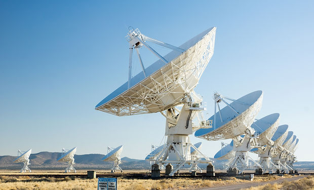 VLA (Very Large Array) - a group of radi