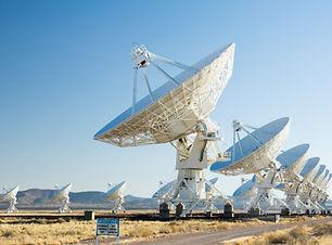 VLA (Very Large Array) - a group of radi