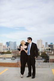 Fort Worth Skyline Engagement Session