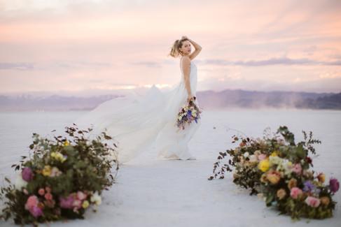 Utah Salt Flats Elopement_Utah Wedding P