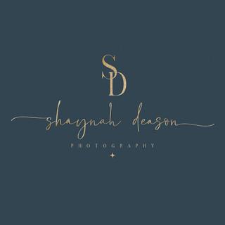 Modern Logo Design_logo designer_photography logo_cygnet creative co_gold foil logo design