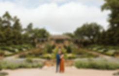 Fort Worth Botanic Garden Engagement Ses