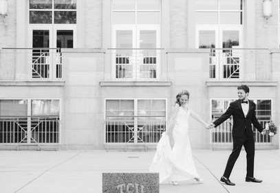 TCU Robert Carr Chapel Wedding_Swan Phot