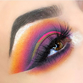 Summer Sunset by SNW Makeup