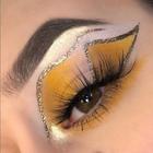 SNW Makeup Metallic Eyeshadow Gold.png