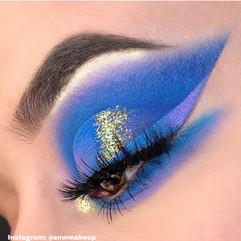 Blue Dreams Eyelook by SNWMakeup
