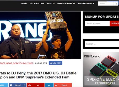 BPM Supreme congrats Perly!