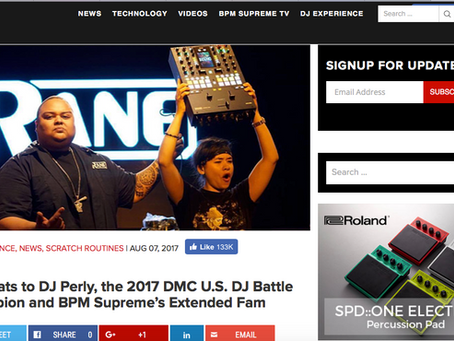BPM Supreme congrats Perly!