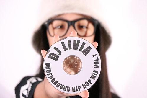 Oldschool UnderGround Hip Hop mix Vol .1