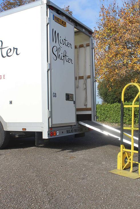 Mister Shifter back of van image