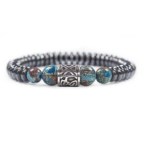 Kehala Giant blue - elegant modern gemstone bracelet