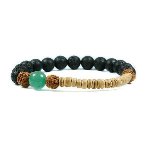 Ahanu Aventurin - Tribal Surfer Unisex gemstone bracelet