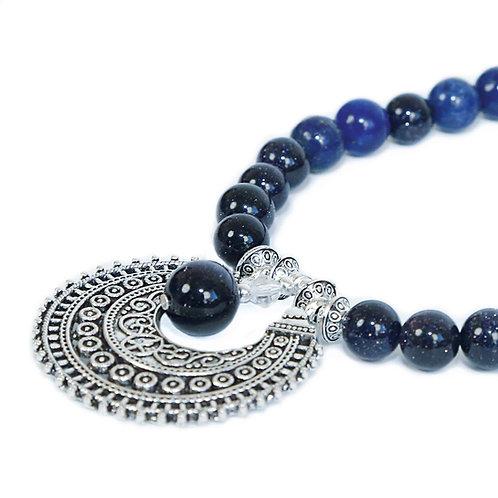 Sitara - Boho Hippie Necklace Lapis Lazuli