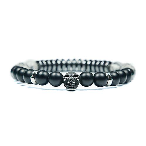 Convoy - Jasper skull bracelet - Combi bracelet