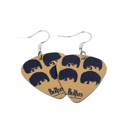 Pleca-Beats - Picks Beatles earrings plectrum