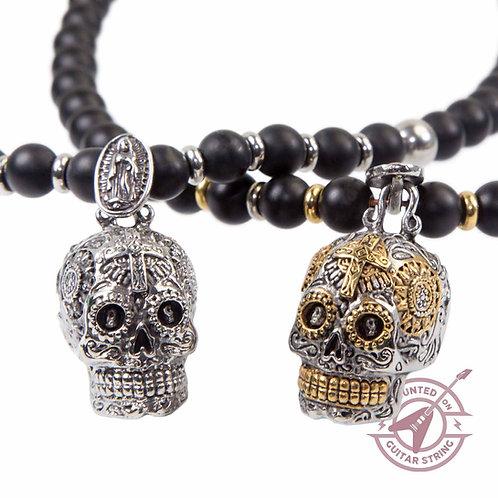 Sugar Skull - Biker Totenkopf Halskette