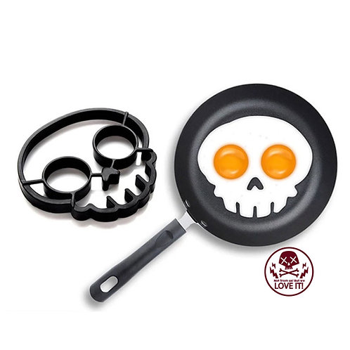 Knut - skull fried egg mould made of silicone