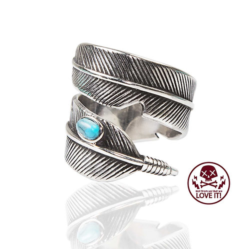Feather - Stainless Steel Ring