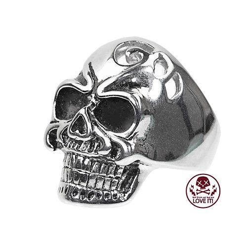Punk VII - Skull stainless steel ring
