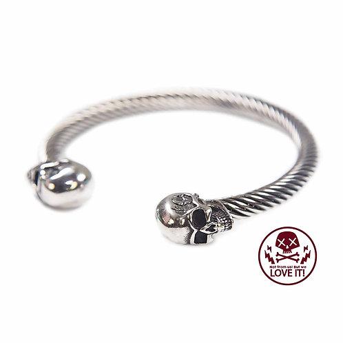 Inox - Unisex skull stainless steel bracelet