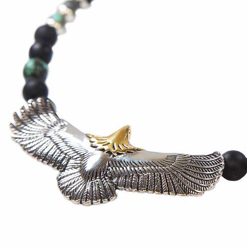 Eagle - Indian Spirit Eagle Gemstone Necklace