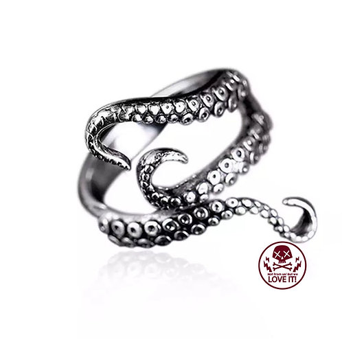 Octopus - Octopus Tentacle Ring Size adjustable
